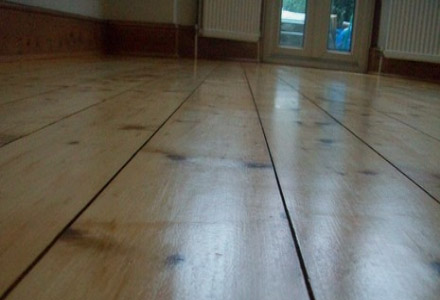 The beauty of a polished wood floor by Sussex Flooring