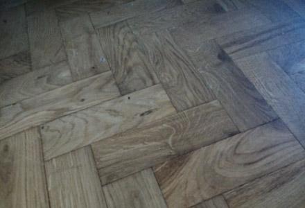 Sussex Flooring install Natural wood parquet floors