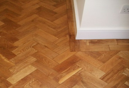 Sussex Flooring install polished parquet floors